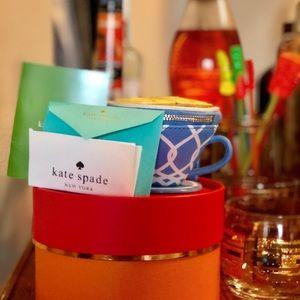 Kate Spade Down the Rabbit Hole Teacup Coin Purse
